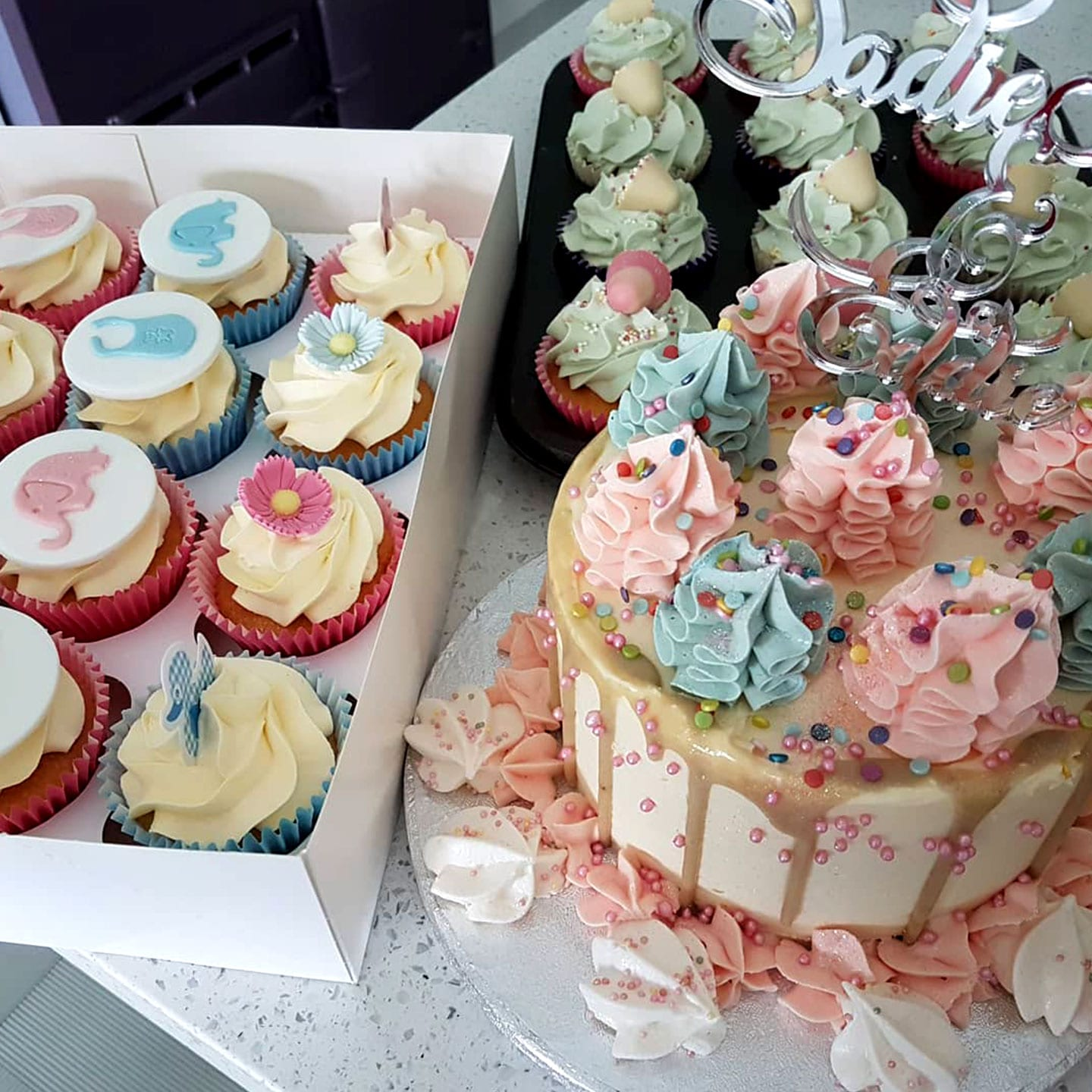 Cake and Cupcake Combo offer Audrey Caldwell Cakes